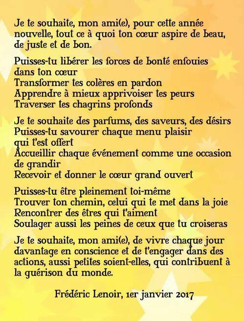 texte frédéric lenoir